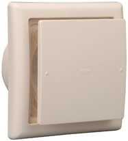Reliable and Functional plastic air vent with push switch damper made in Japan