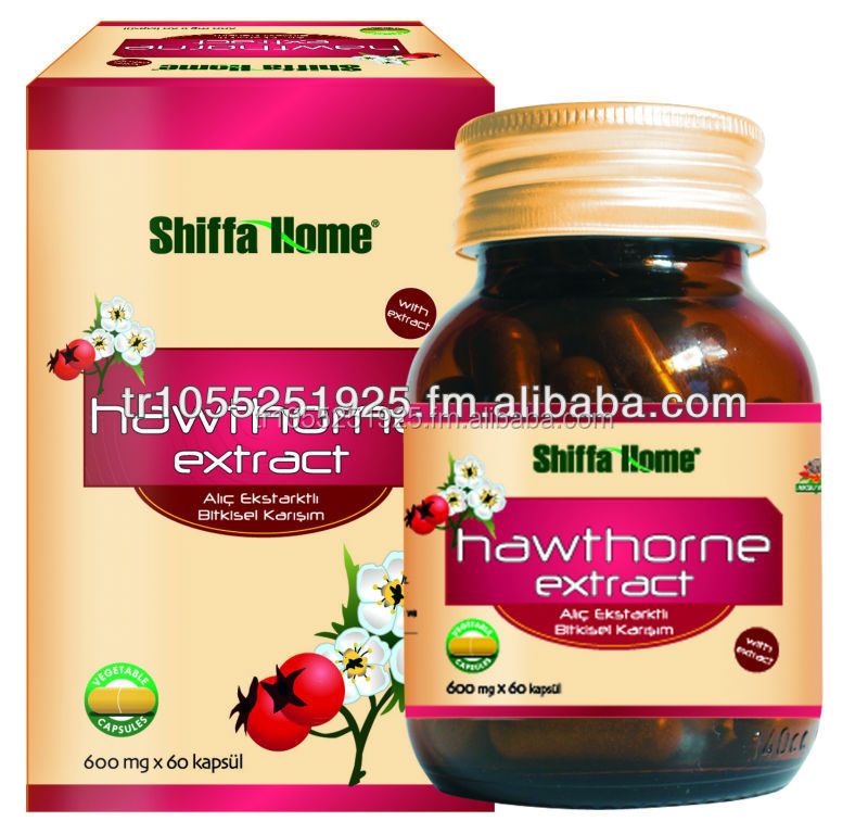 HAWTHORNE NATURAL HERBAL VITAL CAPSULE FOR HEART HEALTH 400 mg