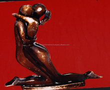 Woman Sex With Man Marble Statue Hand Sculpture Carving Stone For Gift