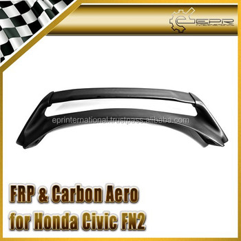 For Honda 07-11 Civic FN2 FN Type R Mugen Style Rear Spoiler