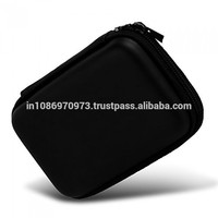 SaiTech IT EVA PU 2.5 inch portable hard disk HDD Carry Pouch cover case protector - Black