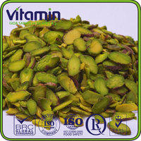 Green kernels - sliced pistachio