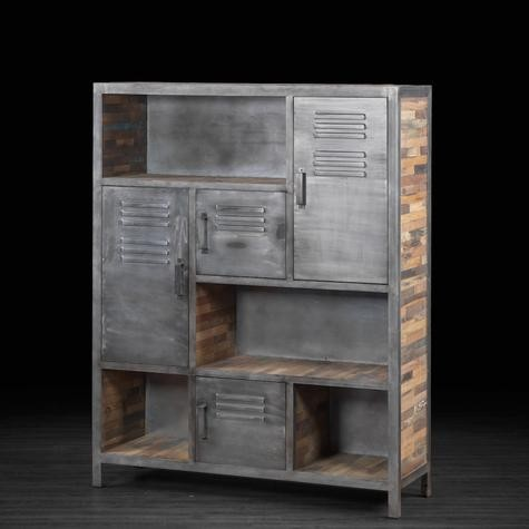 Industrial Vintage Bookcase