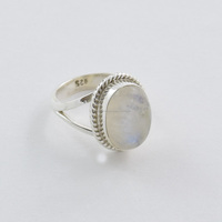 Rainbow moonstone rings 925 sterling silver jewelry wholesale semi precious jewelry finger rings jaipur rings jewelry