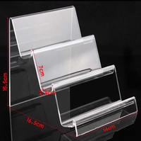Mobile Phone Display Organic Glass ear 15.5x16.5x14cm,7.0x2.5cm 5PCs/Lot Sold By Lot