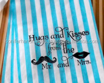 custom printed cake bags for weddings, parties, events, promotions