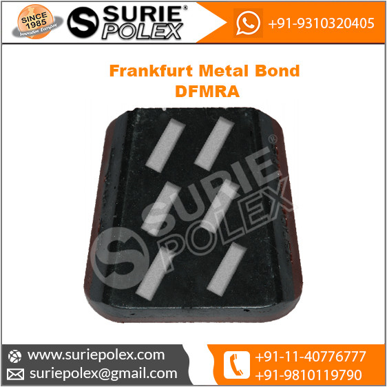 DFMRA Frankfurt Metal Bond Diamond Abrasive