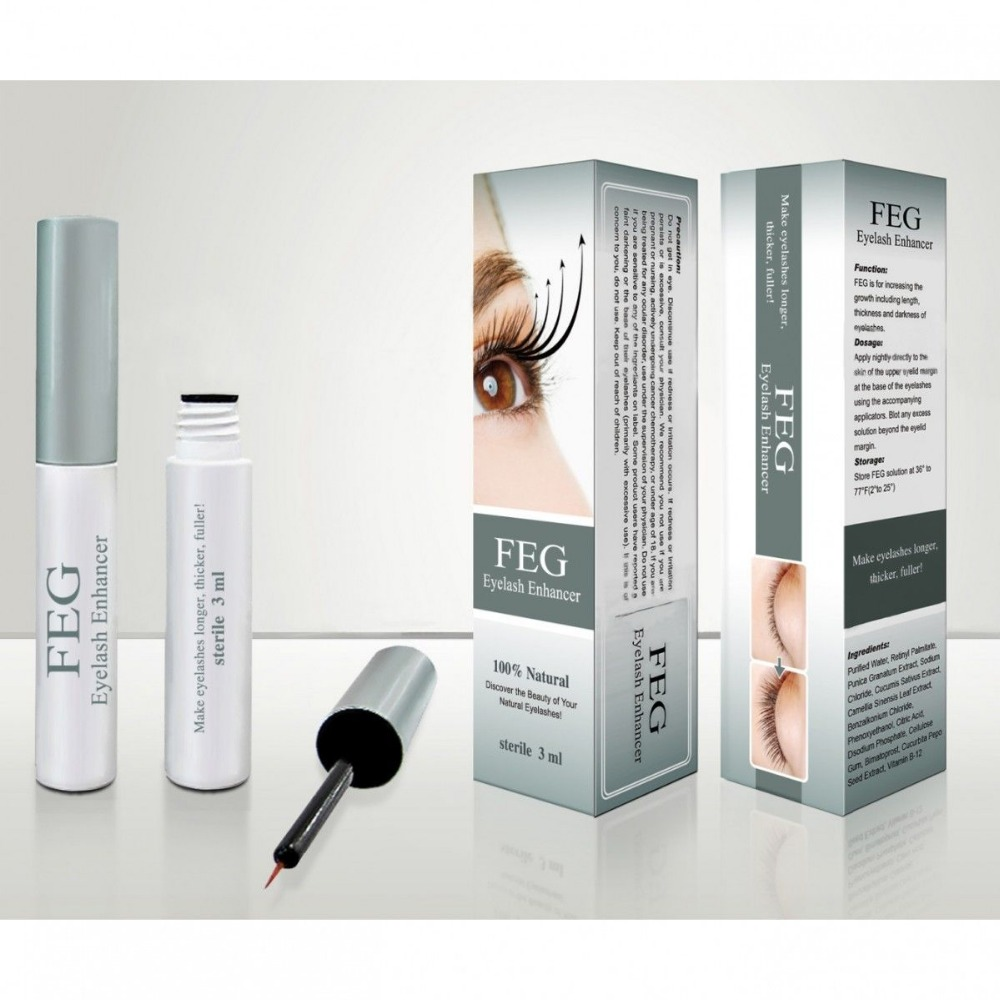 FEG Eyelash Enhancer Serum 3ml ..made in USA
