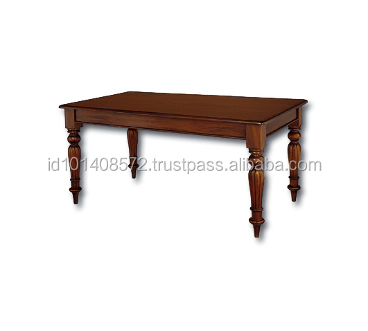 Mahogany Dining Table 150 R/L Indoor Furniture.