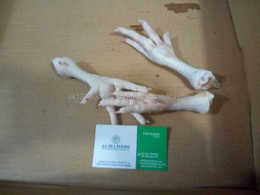 Buy Top Quality Frozen Chicken Feet and Paws - Discount Price