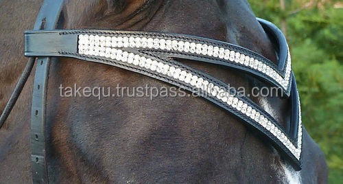 New Crystals Bling Browband for Bridle