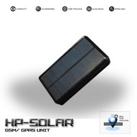 Assets GPS tracker solar rechargeable battery, Easy attach, Powerful solar panel, Unlimited battery life - HPSOLAR