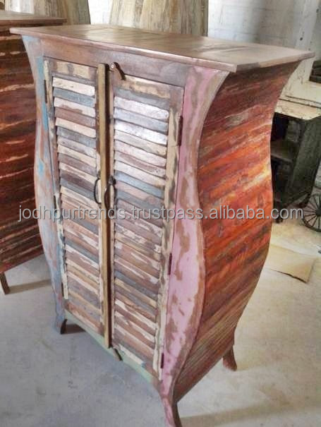 Indian Handicraft, Reclaimed wood cabinet ,Reclaimed wood Furniture made in india