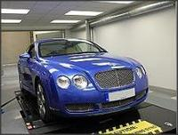 Bentley Continental Gt Coupe With A Performance Tuning Parts