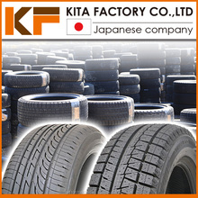 Used Japanese passenger car size-tires; used tire 205/55r16 in bulk