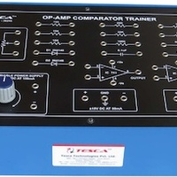 Study Of Op Amp Comparator