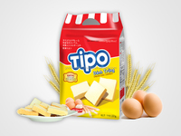 TIPO CREAM EGGS COOKIES 220G/Biscuits