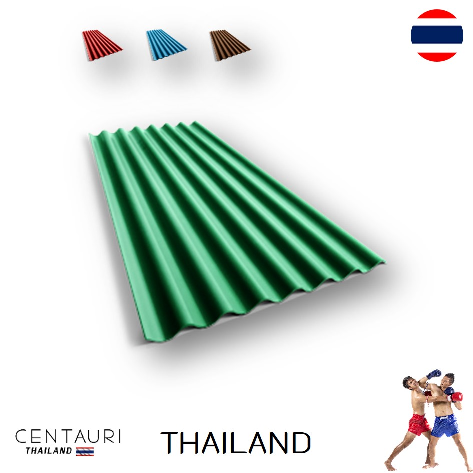 120*54*0.4 cm 150*54*0.4 cm 120*54*0.5 cm 150*54*0.5 cm small corrugated sheet new red blue green blown Thai fiber cement roof t