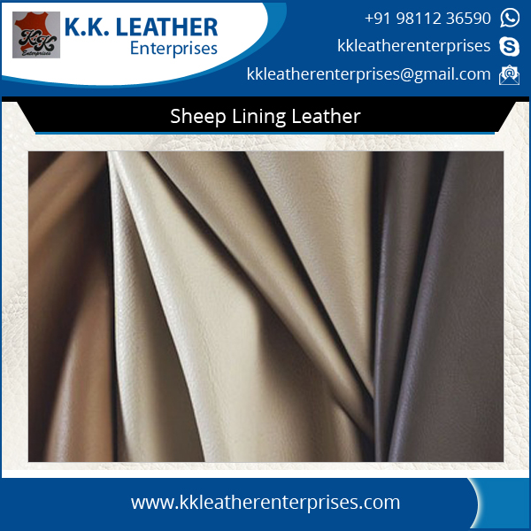 Wholesale Sheep Lining Leather at Affordable Price
