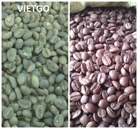 Big wholesale for roasted robusta coffee beans with flavour taste