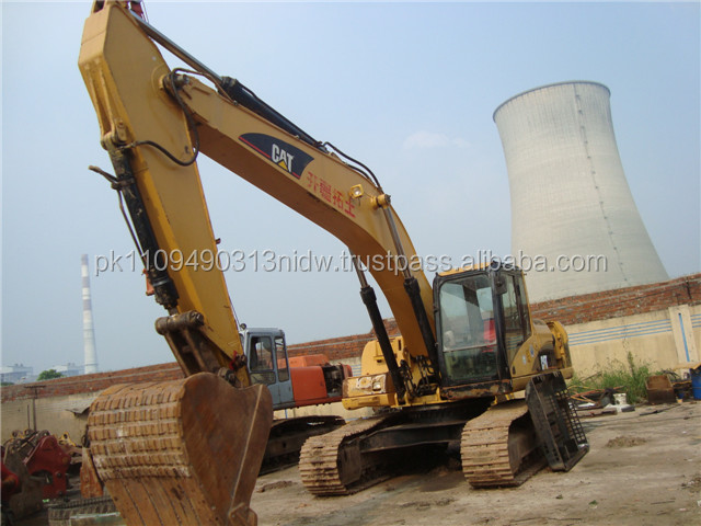 Used Caterpillar Crawler Excavator 325C, American CAT Excavators 325 325C for sale