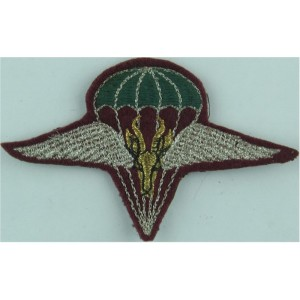 South African 1st Parachute Battalion Embroidered Other Ranks' cap badge
