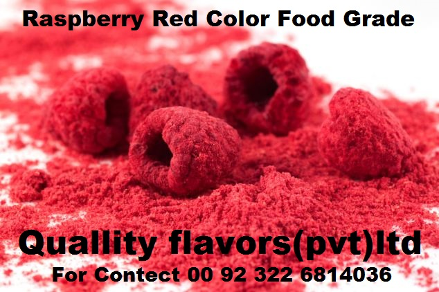 Raspberry Red Color Food Grade