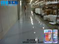 EPOXY FLOOR PAINT FOR FACTORIES AND WAREHOUSES FLOORS, HIGH CHEMICAL AND MECHANICAL RESISTANT