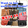 High quality and Genuine used tote bag LOUIS VUITTON for brand shop owner , Other brands also available