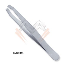 EyeBrow Plucking Tweezers Slant Tweezers Cosmetic Tweezers Eyebrow Tweezers MARIG SURGICAL CO