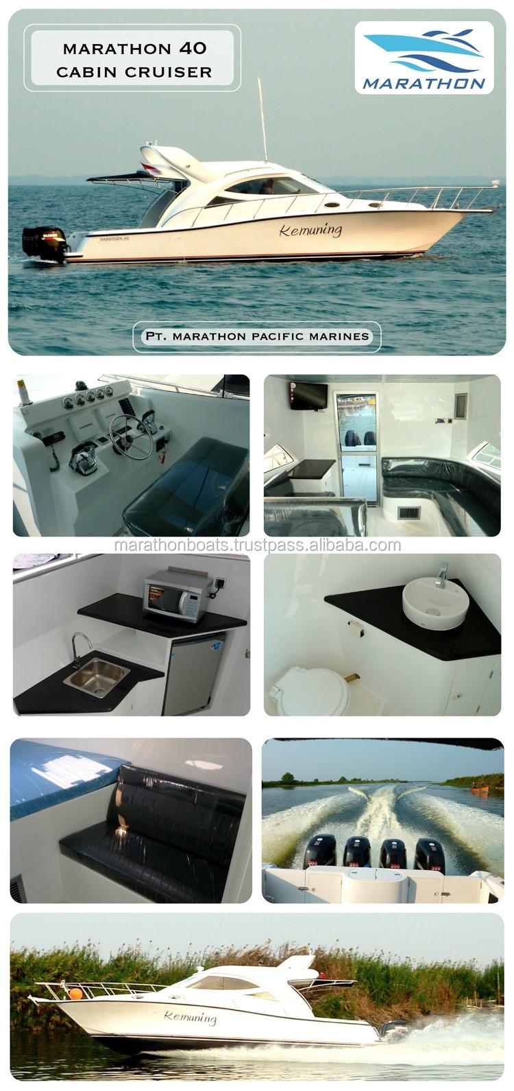 Brand New Marathon 40 Cabin Cruiser Luxury Boat From