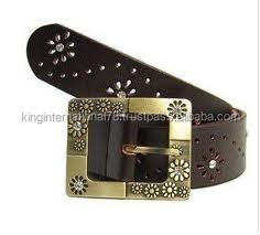 leather girls belts