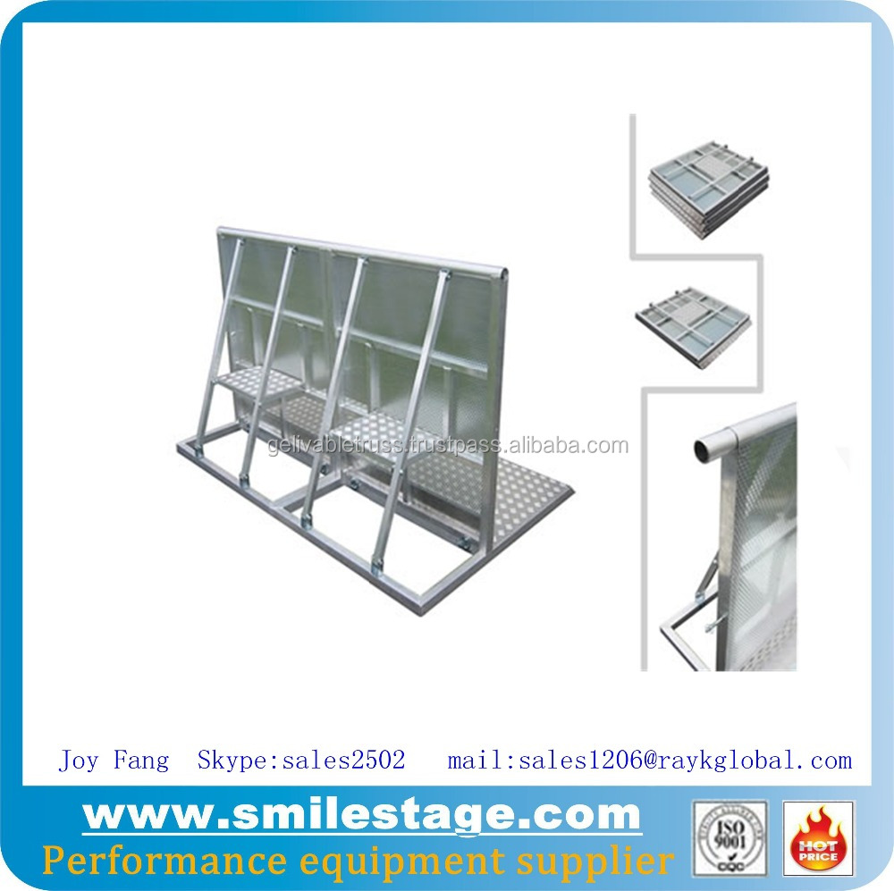 Folding expandable gate barrier road barriers