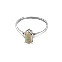 new 925 sterling silver marquise cab gemstone ethiopian opal ring jewellery
