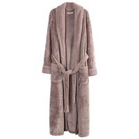 Richie House Women's Plush Soft Warm Fleece Bathrobe Robe.