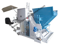 Concrete Block Machine (Made In India) Full Automatic Cement Concrete Hollow Block Making Machine