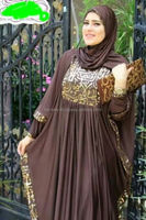 Islamic abaya modern fashion