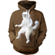 65/35% Polyester Cotton Blend Pc Fleece Hoodie with Custom Design / sublimation 3d printed hoodie sweatshirt / AT NOKI