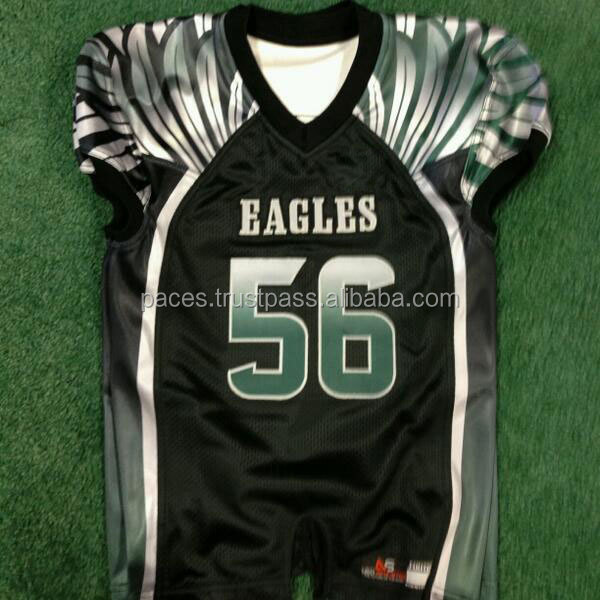 Custom Made American Football Uniforms/Outfits from Pakistan