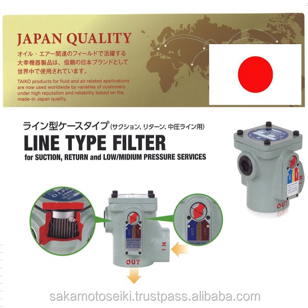 Famous for Japan dust separator TAIKO FILTER contribute from Japan