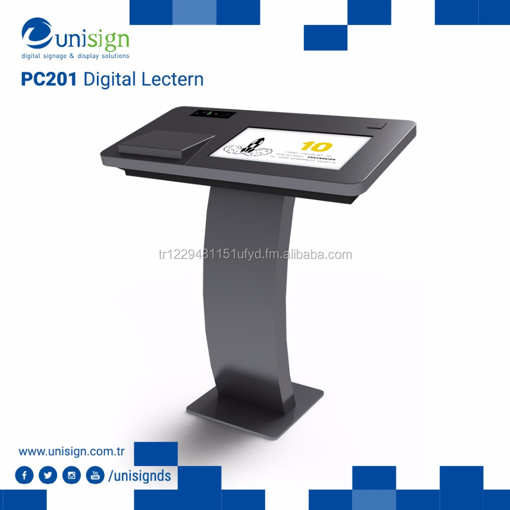 Digital Podium Lectern for Conference Rooms and Classrooms
