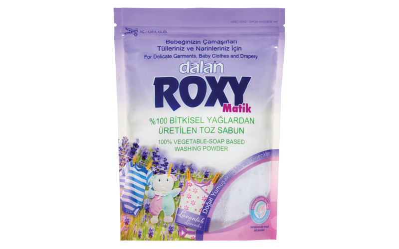 Roxy washing powder 100%vegetable _soap based washing powder ,for delicate garments,baby clothes and draperies