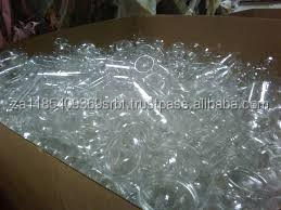 PET Clear Bottle scrap in bales