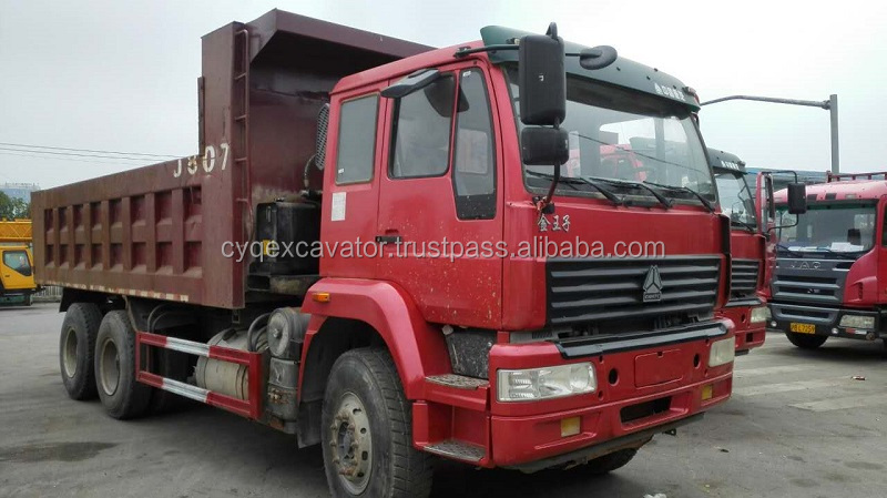Used China dump truck,used 6x4 HOWO SINOTRUCK used heavy rear dump truck for cheapest sale!!!