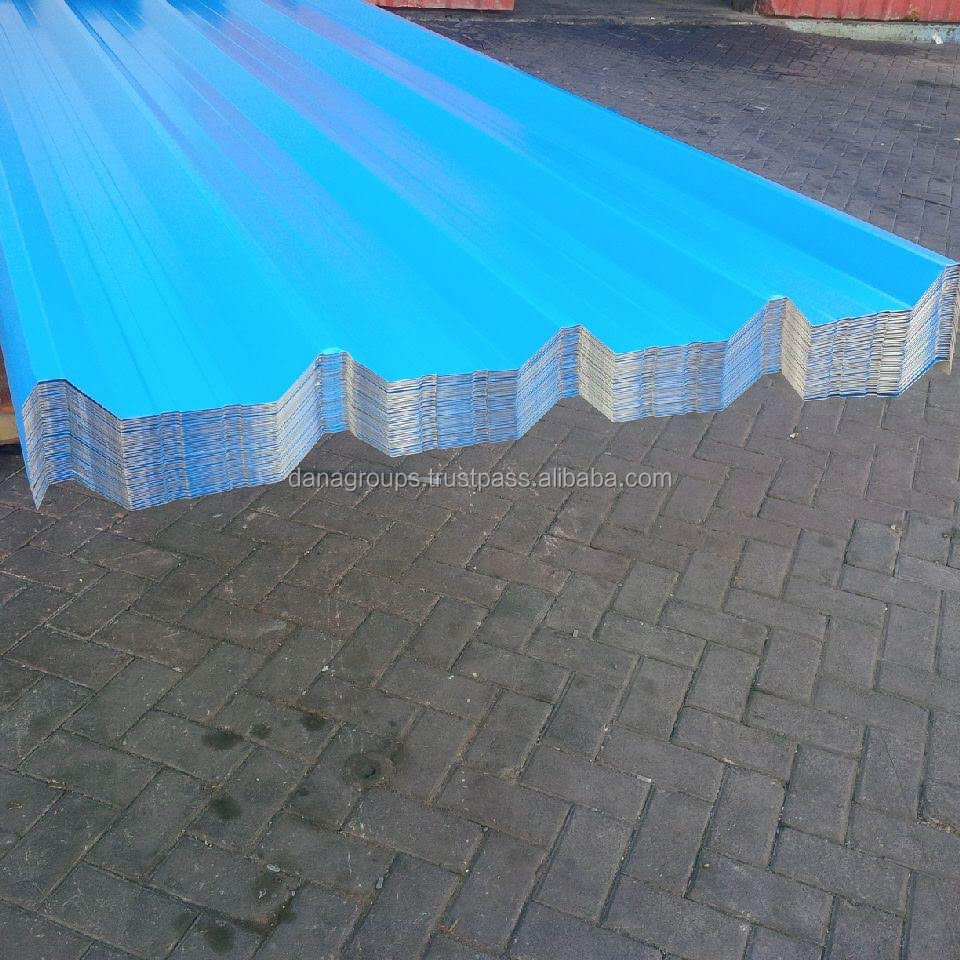 Qatar Roof Corrugated PVDF Coated Profile Sheet Supplier _ DANA STEEL