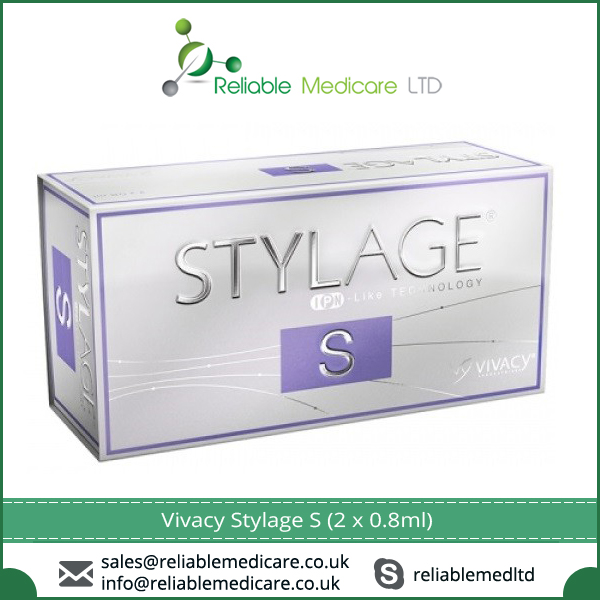 100% Standard Non-animal Biodegradable Material Made Vivacy Stylage S (2 x 0.8ml)