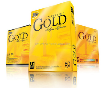 Paperline Gold A4 70gsm, 80gsm, 100gsm