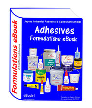 Formulations eBook with 25 Adhesives manufacturing formulations (eBook1)