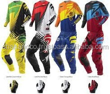 New Custom Made Sublimated Motocross Pants Motocross Jersey