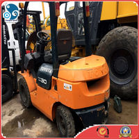 Japan toyota diesel forklift for sale